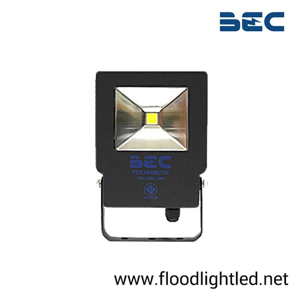 สปอร์ตไลท์ LED 10w รุ่น FOX ยี่ห้อ BEC (แสงขาว)