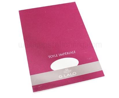 สมุด สำหรับปากกาหมึกซึม G.Lalo Canvas A4 100g.