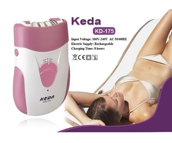 Product details of Keda เครื่องถอนขนไฟฟ้า รุ่น 175 (สีชมพู)