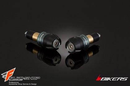 ตุ้มปลายแฮนด์ Biker สีเทา for Z250SL