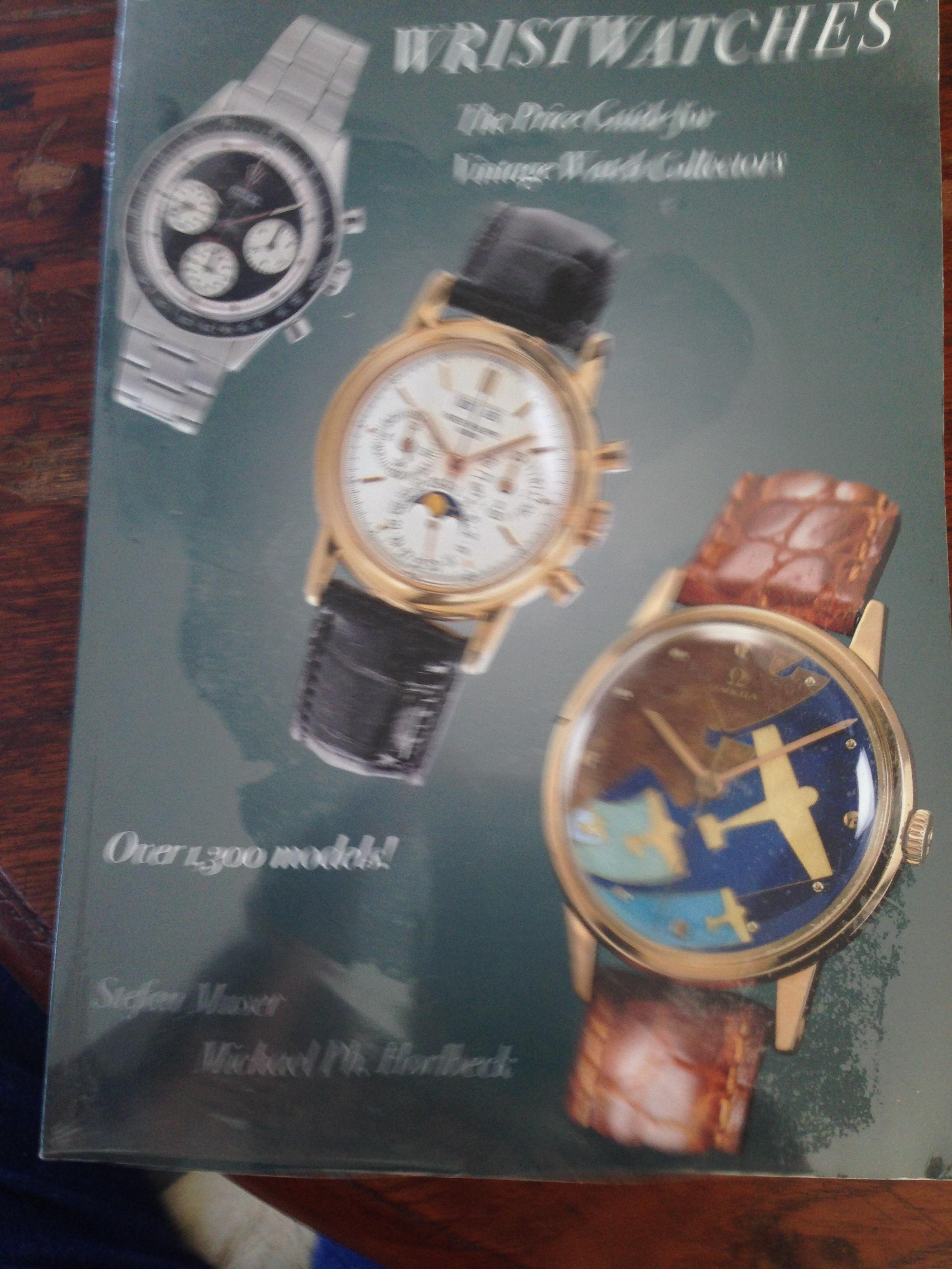 Classic Wristwatches. The Price Guide for Vintage Watch Collectors. Over 1,300 models