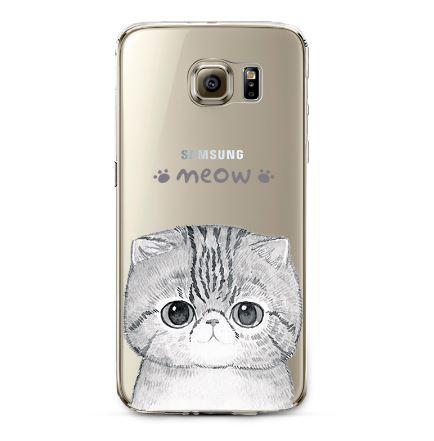เคสซัมซุง s7 ลายแมวเหมียว#4 tpu soft case
