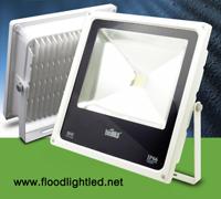 LED Flood Light Slim 50w BIOBULB สีขาว (แสงขาว)