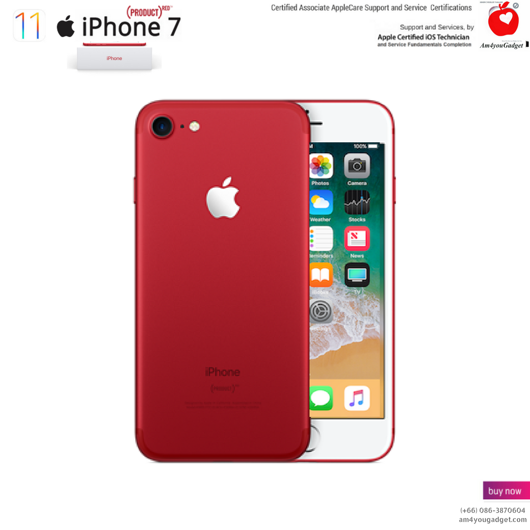 Apple iPhone 7 (PRODUCT)RED™