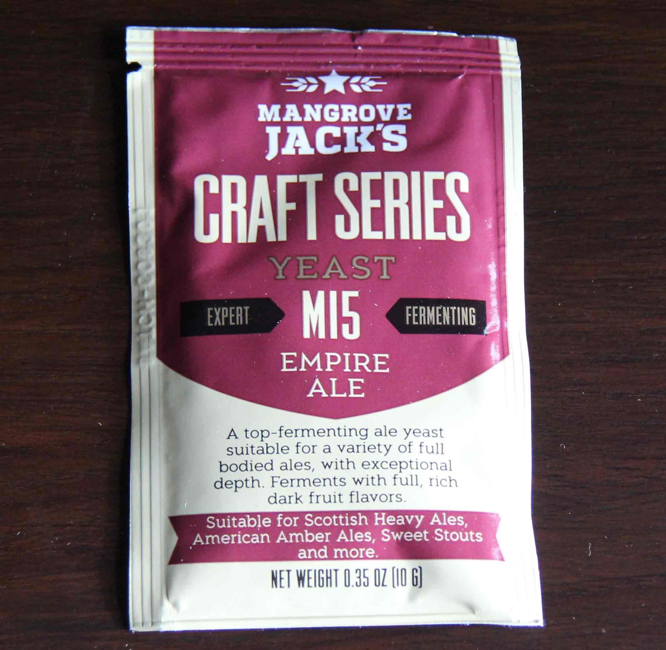 Mangrove Jack's - M15 EMPIRE ALE Dry Yeast