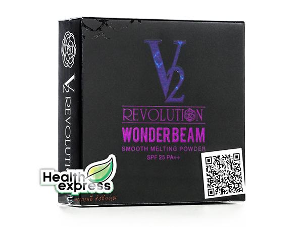 แป้ง V2 Wonder Beam SPF25 PA+++ แป้ง วีทู วันเดอร์ บีม