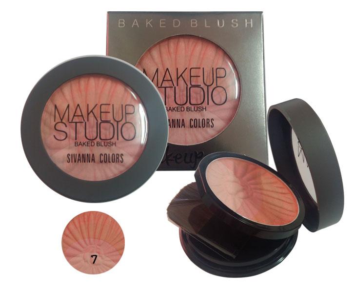ปัดแก้ม Sivanna Colors Make up Studio Baked Blush No.7
