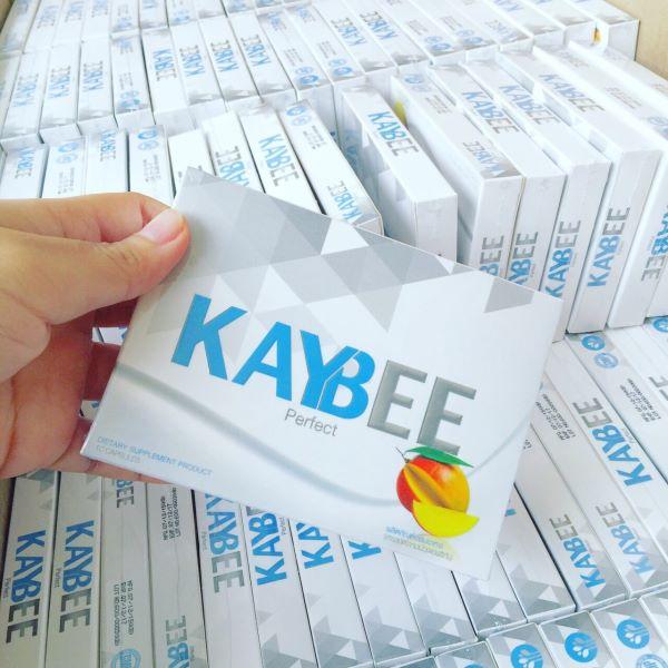 อาหารเสริมลดน้ำหนัก kaybee perfect (สีฟ้าขนาดทดลอง 10 แคปซูล)