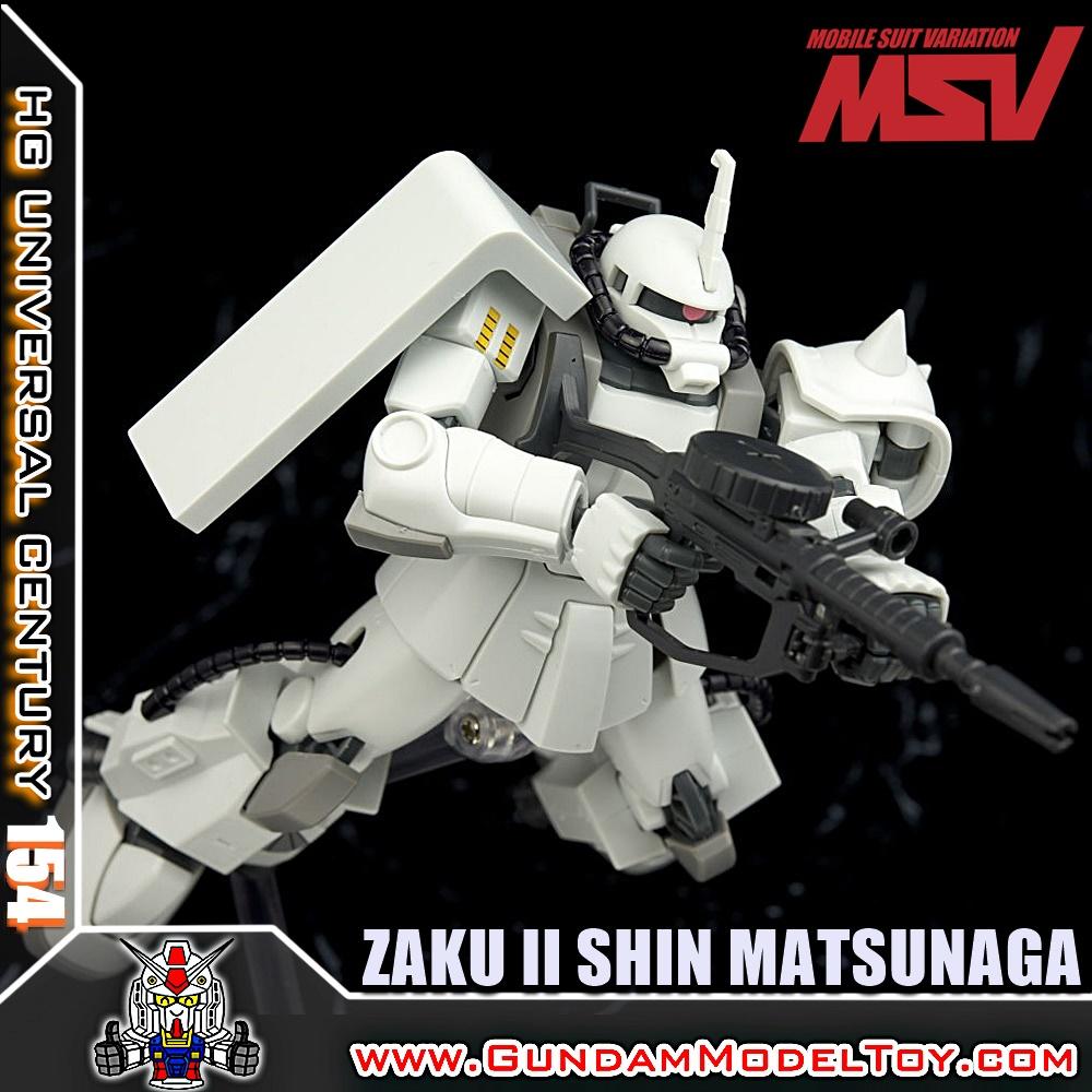 HGUC 1/144 ZAKU II SHIN MATSUNAGA CUSTOM ซาคุ II ชิน มัตซูนากะ คัสตอม