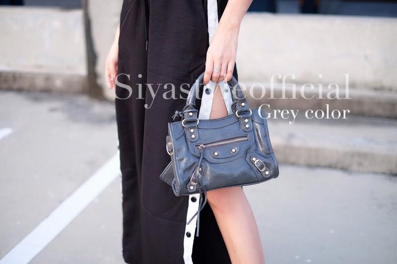 กระเป๋าสะพายแฟชั่น กระเป๋าสะพายข้างผู้หญิง City mini bag [สีเทา]
