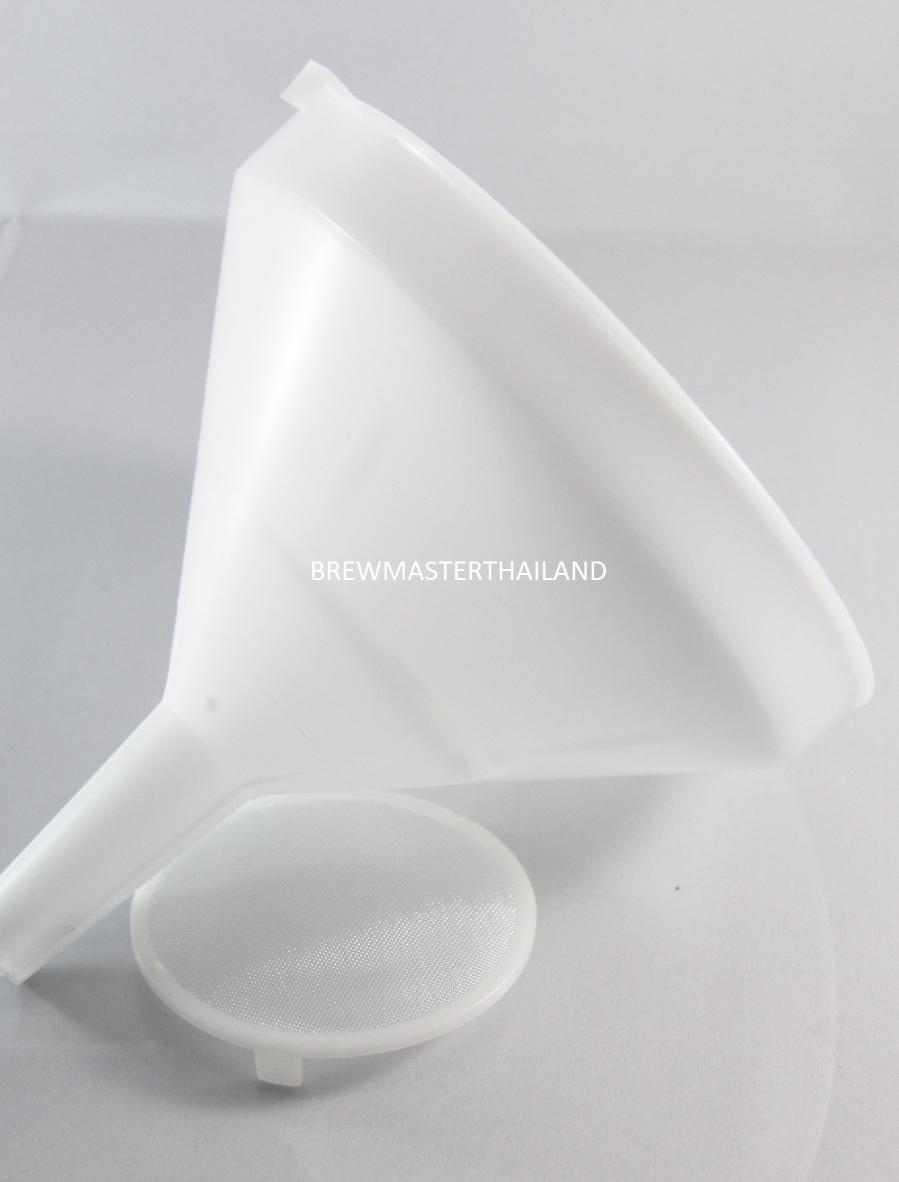 Large Funnel with Removable Strainer, 8-inch
