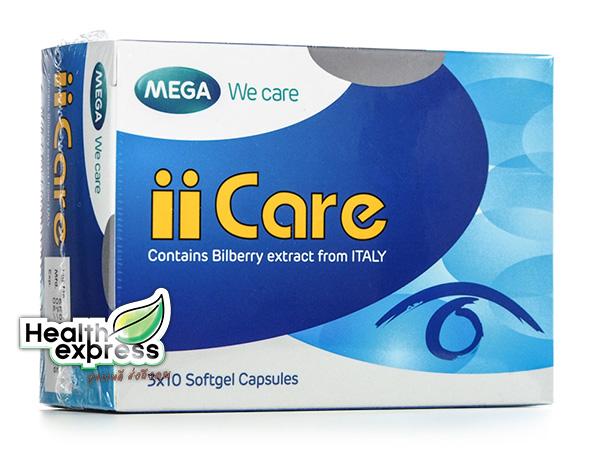 Mega We Care iiCare เมก้า วีแคร์ ไอแคร์ บรรจุ 30 แคปซูล