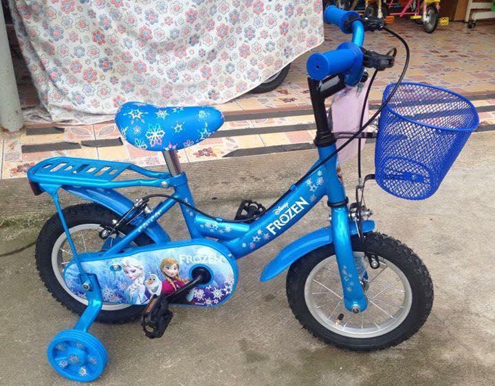 จักรยานเด็ก - ยี่ห้อ TURBO - ลายลิขสิทธิ์ โฟรเซ่น