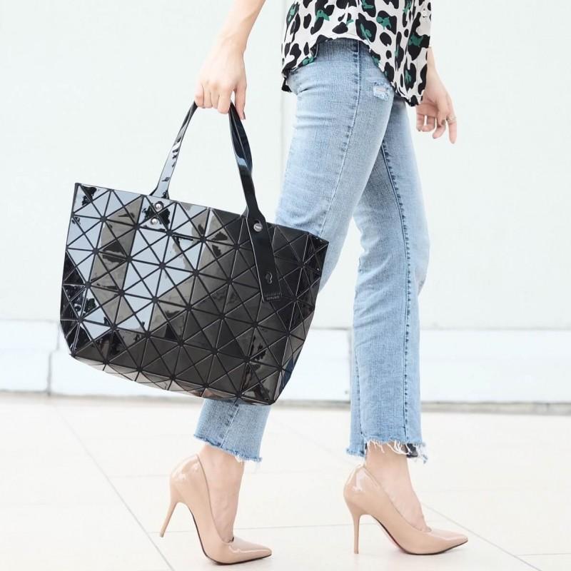 กระเป๋าสะพายแฟชั่น กระเป๋าสะพายข้างผู้หญิง Bao Bao 7*8 NoLogo [สีดำ]