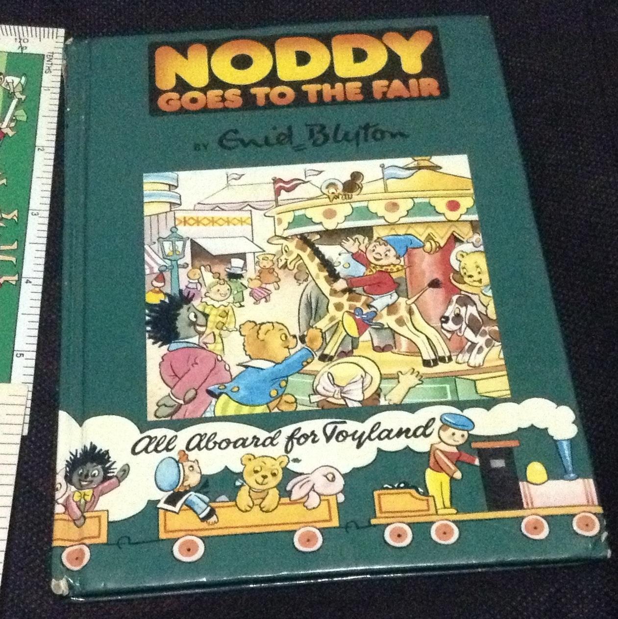 Noddy goes to the fair ปกแข็ง ราคา 100