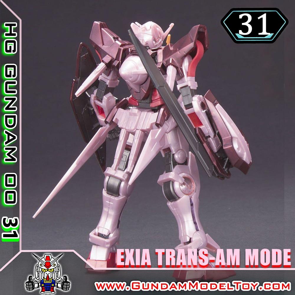 HG00 1/144 GUNDAM EXIA TRANS-AM MODE กันดั้ม เอ็กซ์เซีย ทรานส์ แอม โหมด