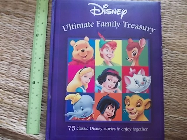 (Disney) Ultimate Family treasury (75 Classic Disney Stories) Hardback 304 Pages ราคา 250