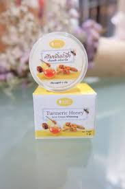 ครีมขมิ้นน้ำผึ้ง Turmeric Honey Cream