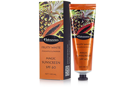 Pineapple Papaya Magic Sunscreen SPF60