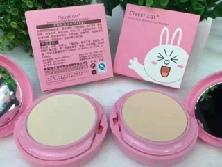 Clever Cat Powder Cover Pact Cony (No.21)