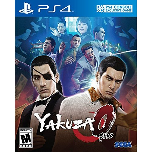 PS4 Yakuza Zero : Z1-Eng