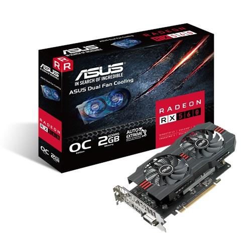 ASUS RADEON RX560 OC 2GB GDDR5