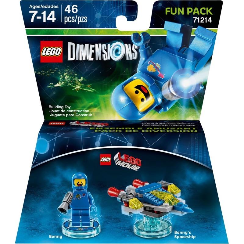 LEGO Dimensions 71214 Lego Movie Benny Fun Pack (Damaged Box)