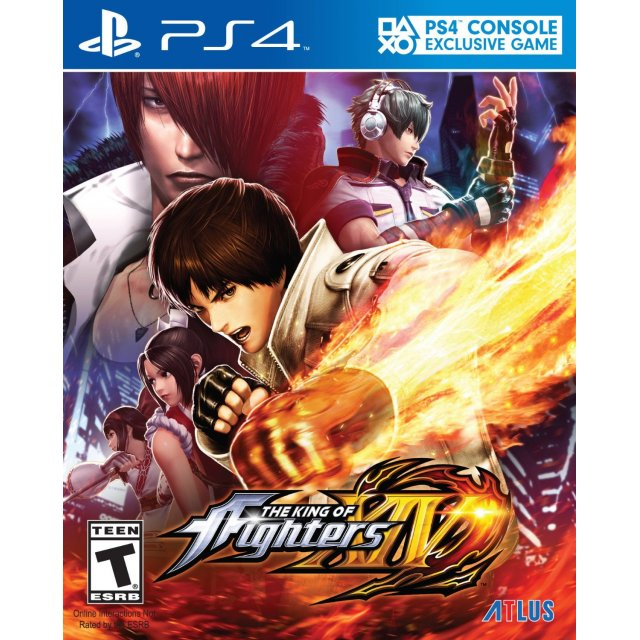 PS4 The King of Fighters XIV : Z1-Eng