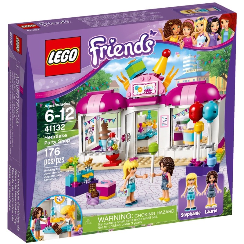 LEGO Friends 41132 Heartlake Party Shop