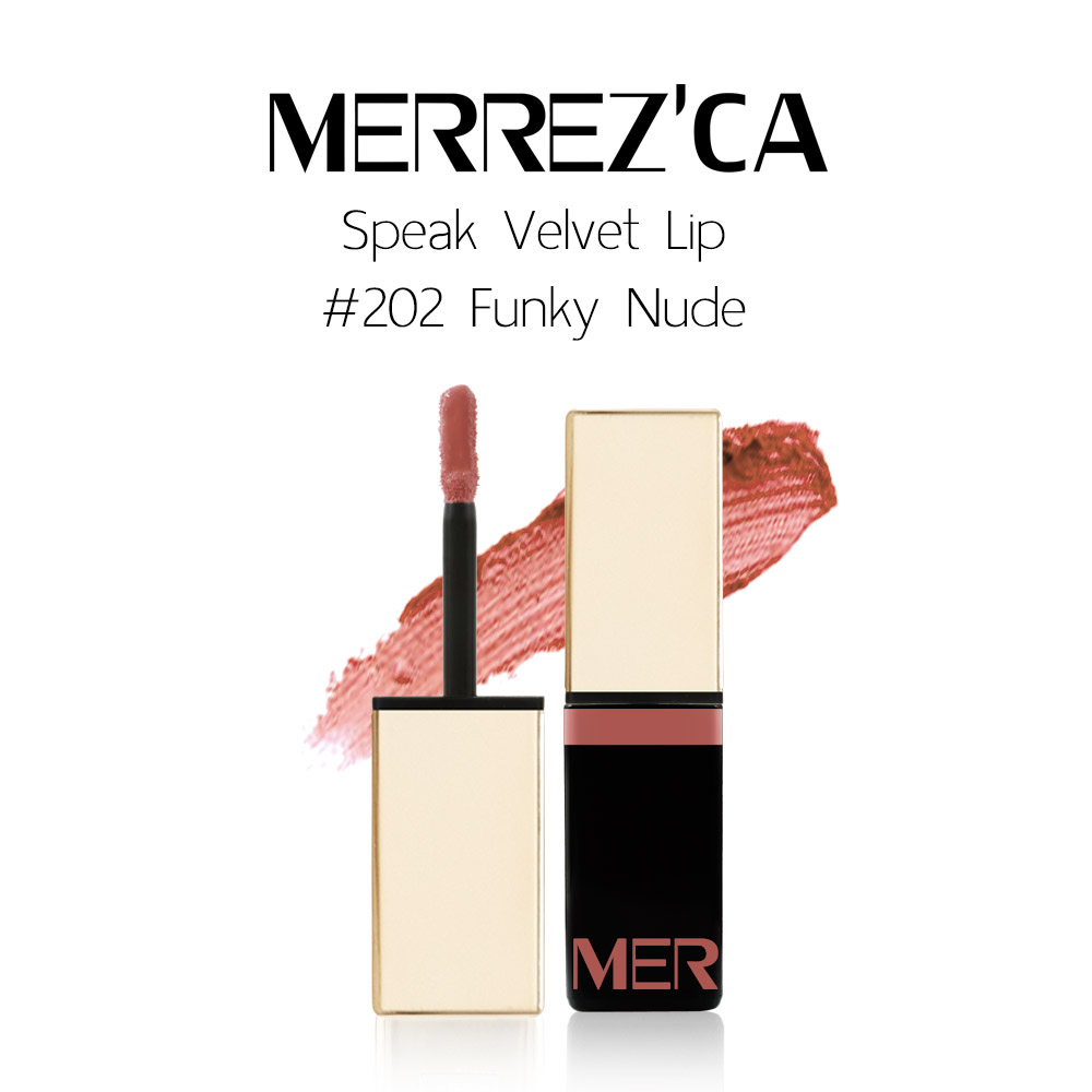Merrez'Ca Speak Velvet Lip #202 Funky Nude