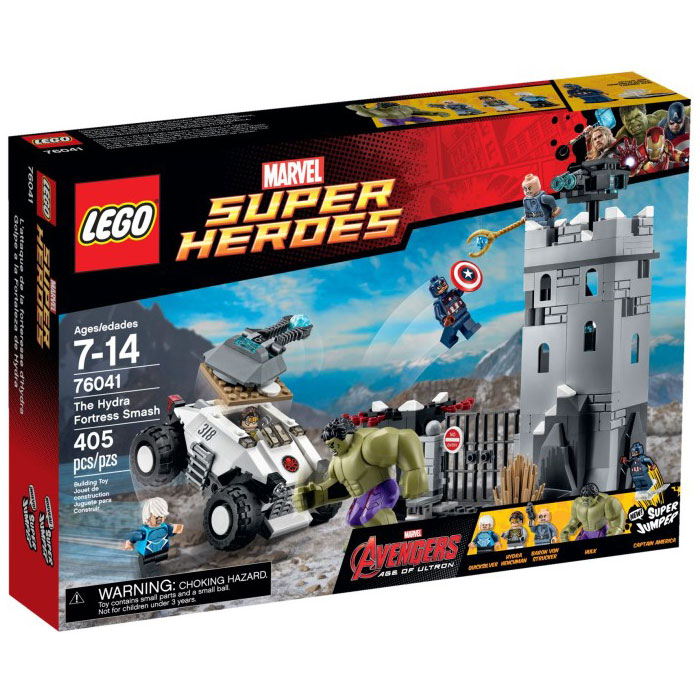LEGO Super Heroes 76041The Hydra Fotress Smash