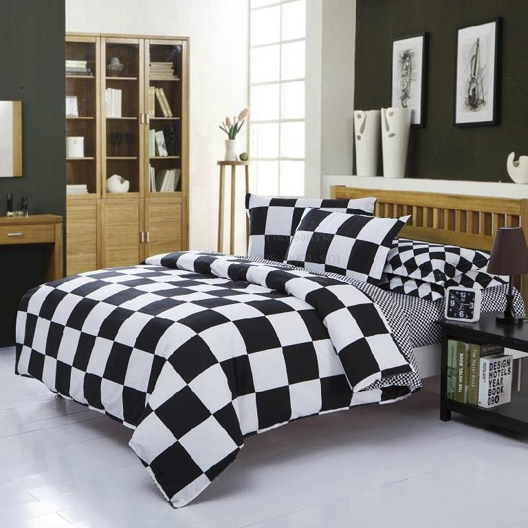 ผ้าปูที่นอน BlackWhite -1