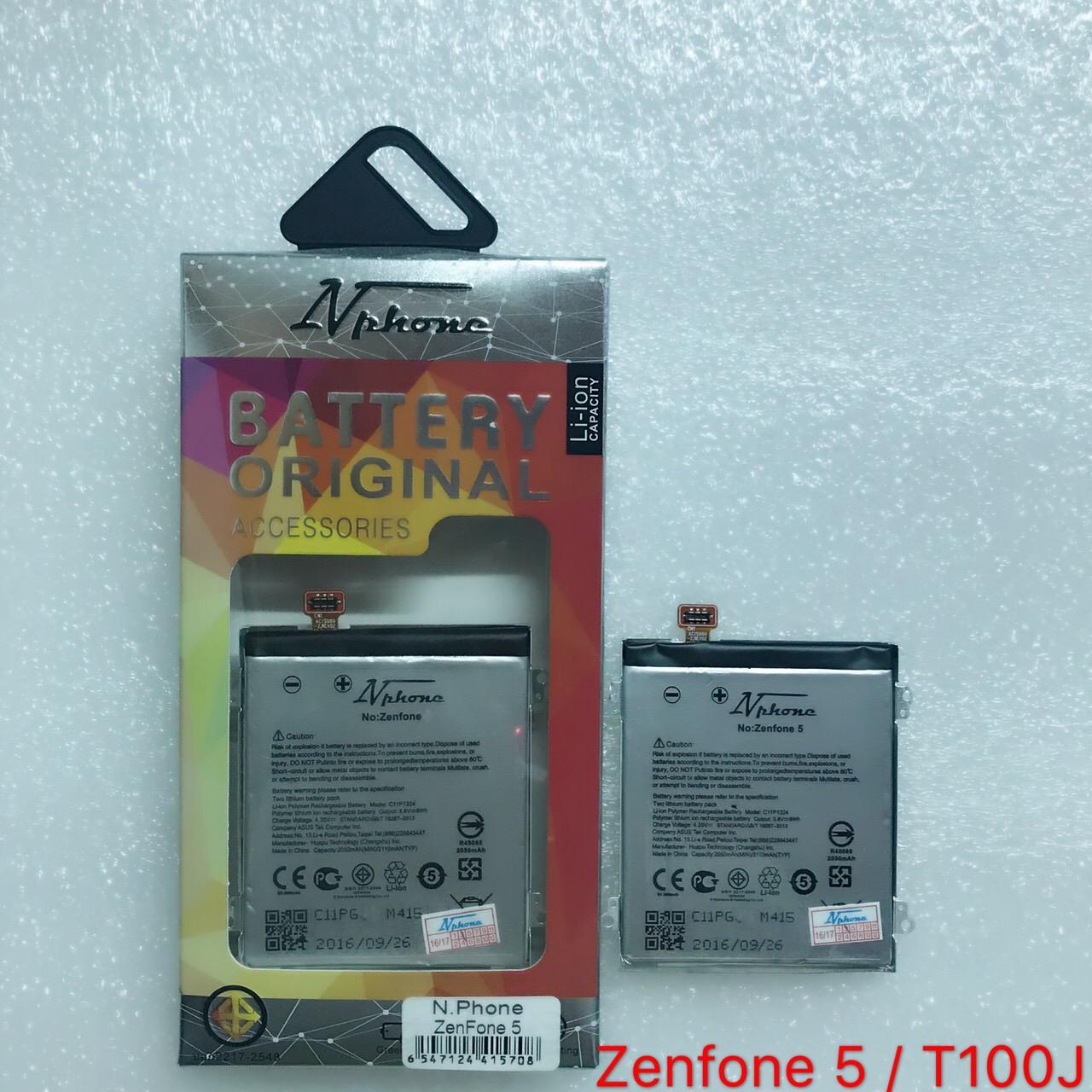 แบตเตอร์รี่ งานบริษัท ( มี มอก ไส้เต็ม ) Asus Zenfone 5 / TooJ