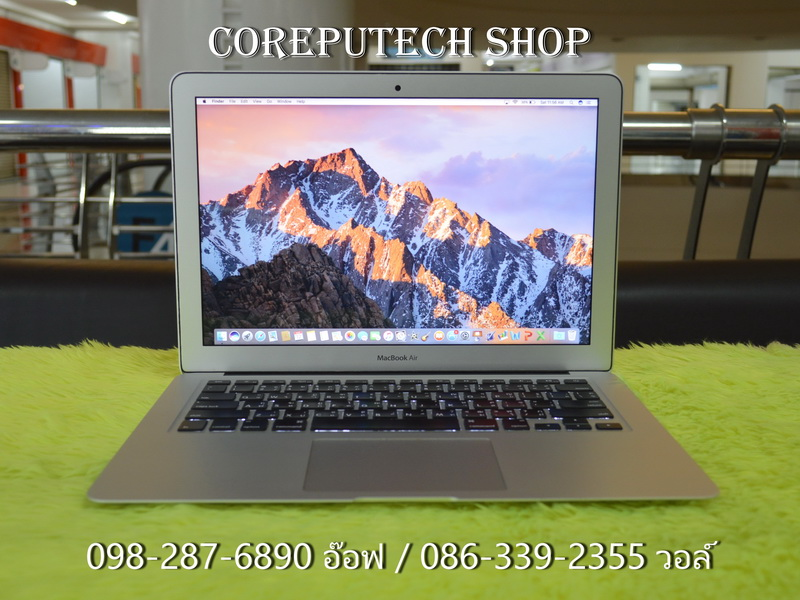 MacBook Air 13-inch Intel Core i5 1.3GHz. Ram 4GB SSD 128GB. Mid 2013.
