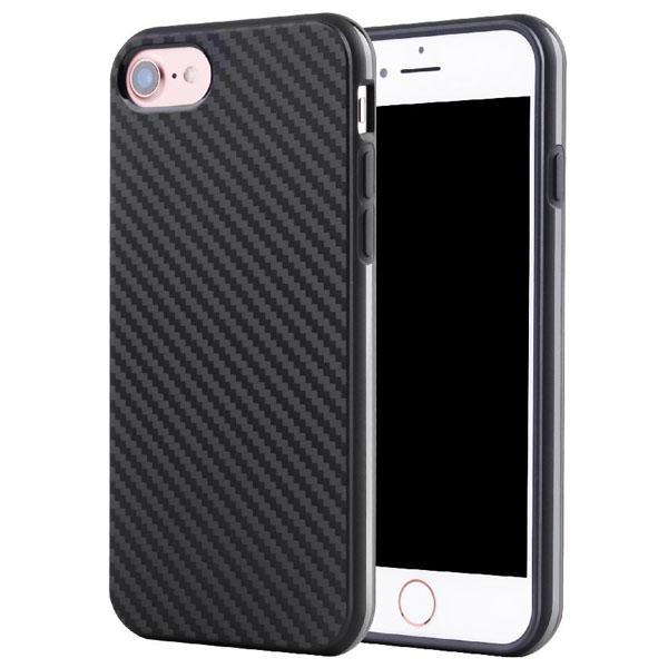 เคสยาง สีดำ ลายเคฟล่า 1.2 mm - เคส iPhone 6 Plus / 6S Plus