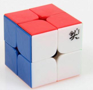 รูบิค Dayan 2x2x2 Stickerless 50mm