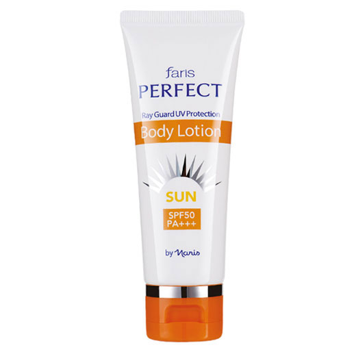 Faris Perfect Sun Ray Guard Body Lotion SPF50 PA+++ 70ml