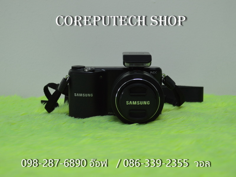 Samsung Mirrorless Smart Camera NX2000 + Lens 20-50mm.