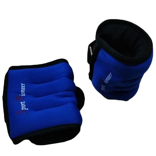 ชุดถ่วงน้ำหนักสำหรับข้อมือและข้อเท้า 3 kg (2 ชิ้น)