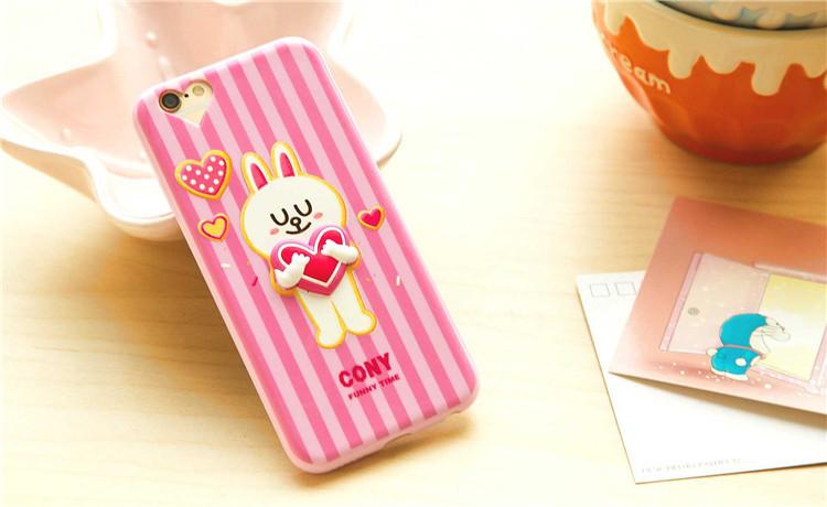 เคสลายโคนี่ โดเรมอน (เคสยางหนา) - iPhone5 / 5S