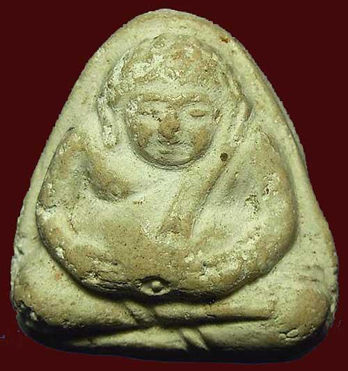 พระวัดประสาทบุญญาวาส ปี๒๕๐๖ พิมพ์พระสังกัจจายน์ เนื้อขาว