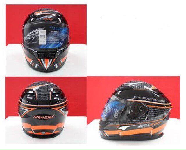 หมวกกันน็อค GRACSHAW รุ่น GRANDEX G9009 (แกรนด์เด็กซ์) แว่นเดียว
