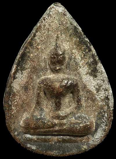 พิมพ์กลีบบัว ตะกั่วสนิมแดงกรุเก่า ปี๒๕๒๐..ลพ.นารถ วัดศรีโลหะฯ กาญจนบุรี