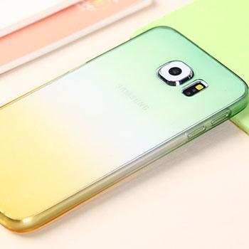 เคสใส ขอบสี (เคสยาง) - Galaxy Note4