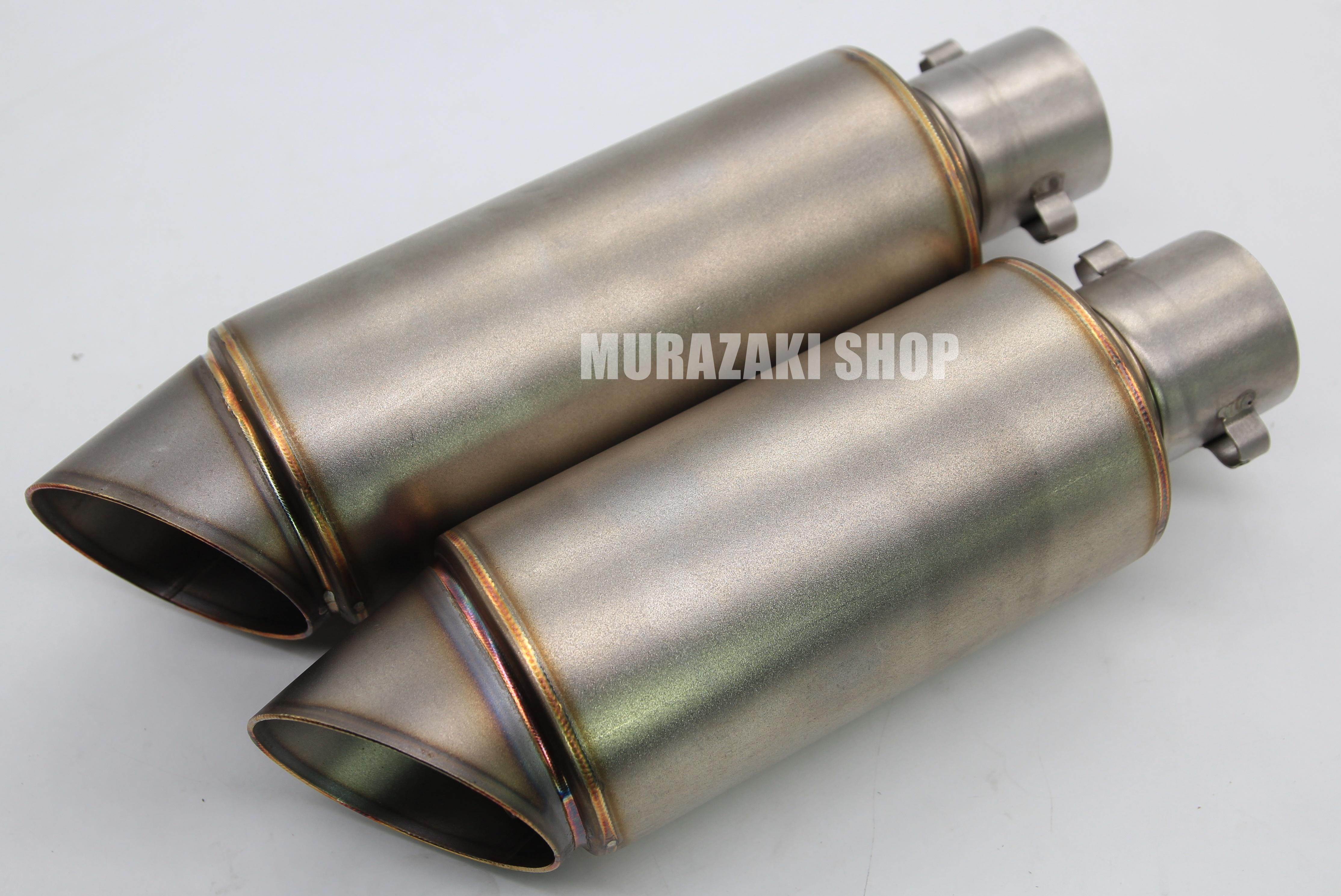 ปลายท่อทรงกลมเงิน ความยาว190mm 160mm ราคา1700 ใส่คอ2นิ้ว