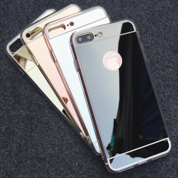 เคสยาง - กระจกเงา - เคส iPhone 7
