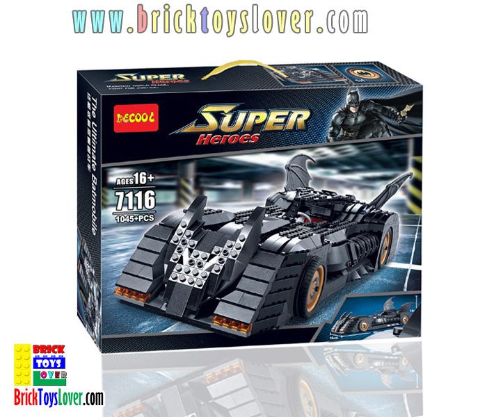 7116 เลโก้จีนโมเดล Batman รถแบทแมน The Ultimate Batmobile