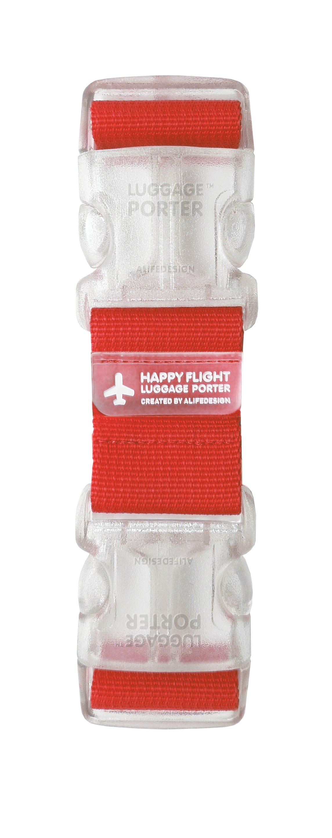 Alife Design Luggage Porter - Red