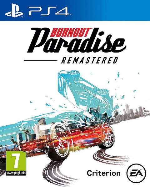 PS4- Burnout Paradise Remastered