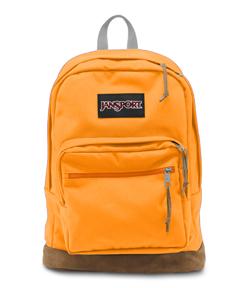 JanSport Right Pack - Orange/Gold